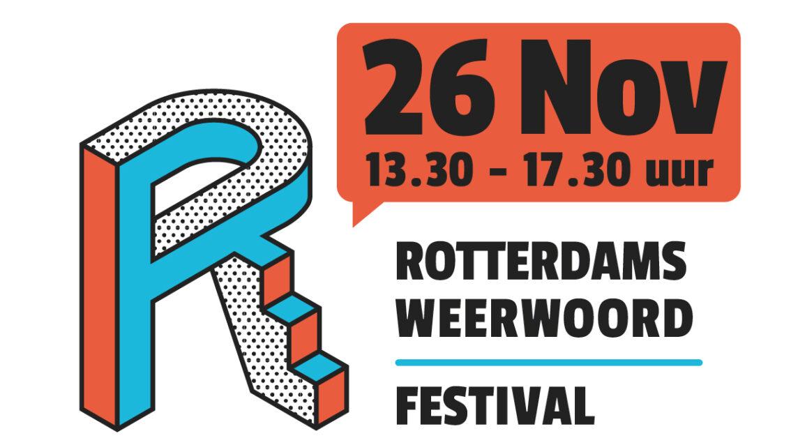 Kom naar het Rotterdams WeerWoord Festival!